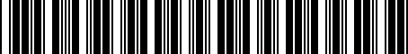 Barcode for 5216102020