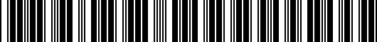 Barcode for PT4134218202