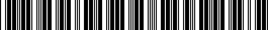 Barcode for PTS0233080SP