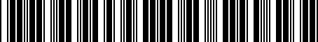 Barcode for PTS1033050